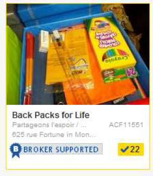 Back Packs For Life Share The Warmth Montreal Community Giving